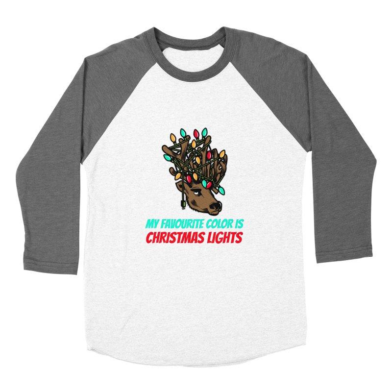 MY FAVORITE COLOR IS CHRISTMAS LIGHTS Women's Longsleeve T-Shirt by Saksham Artist Shop