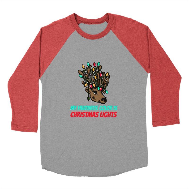 MY FAVORITE COLOR IS CHRISTMAS LIGHTS Men's Longsleeve T-Shirt by Saksham Artist Shop