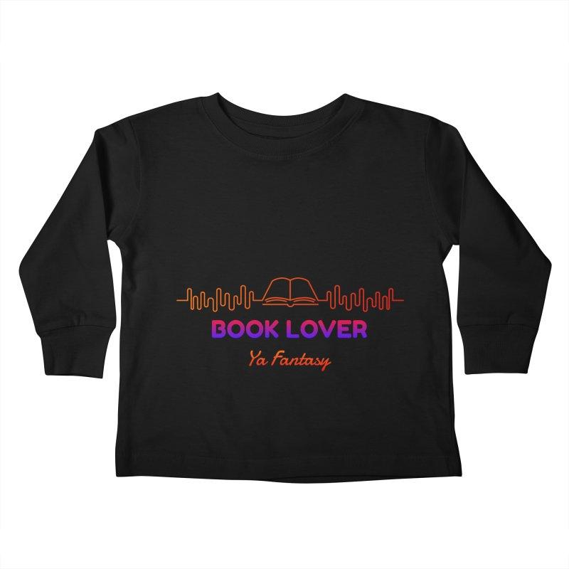 BOOK LOVER YA FANTASY Kids Toddler Longsleeve T-Shirt by Saksham Artist Shop