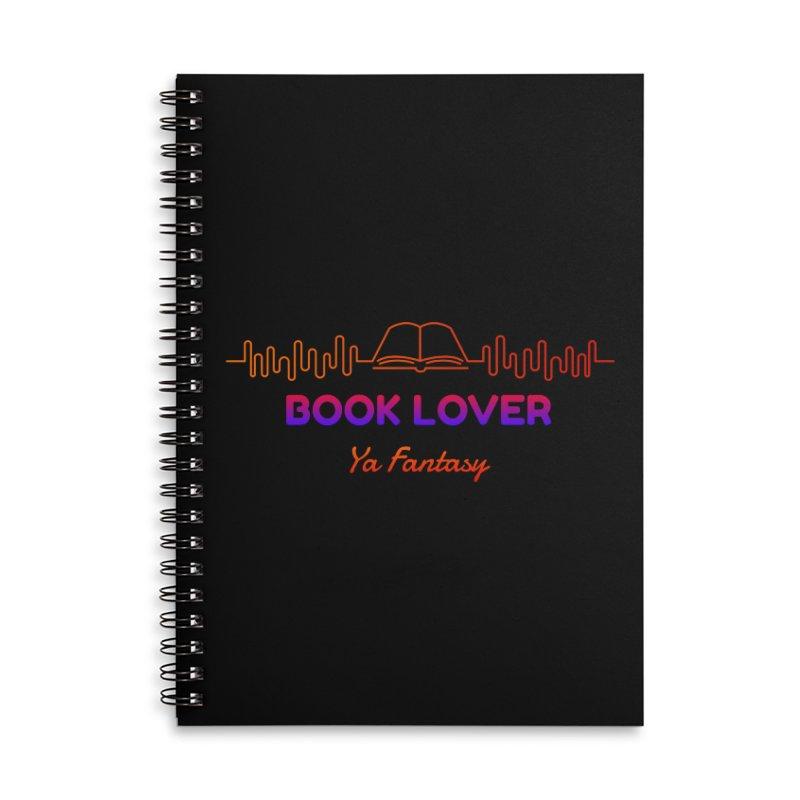 BOOK LOVER YA FANTASY Accessories Notebook by Saksham Artist Shop