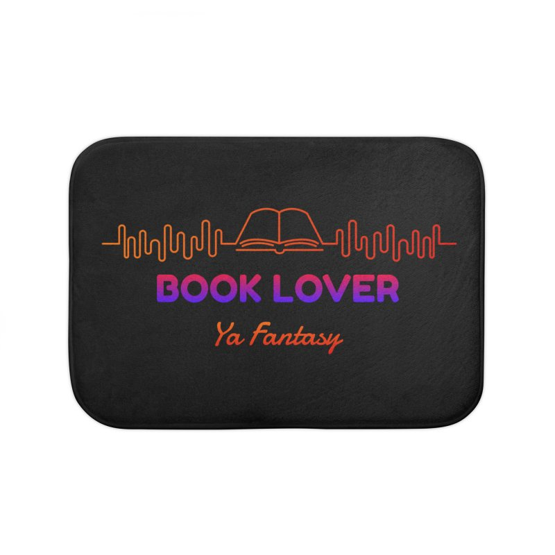 BOOK LOVER YA FANTASY Home Bath Mat by Saksham Artist Shop