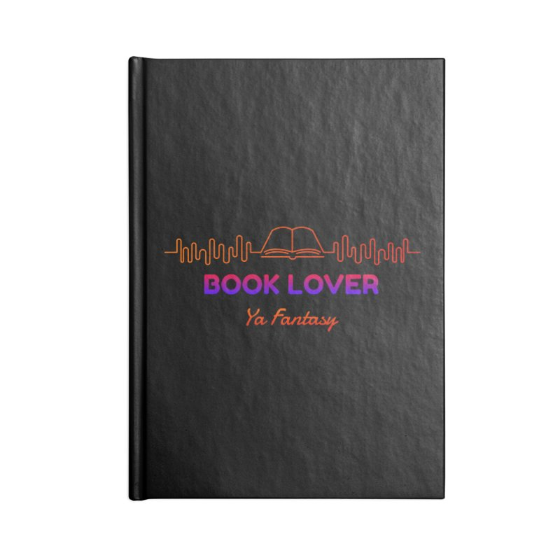 BOOK LOVER YA FANTASY Accessories Notebook by Saksham Artist Shop
