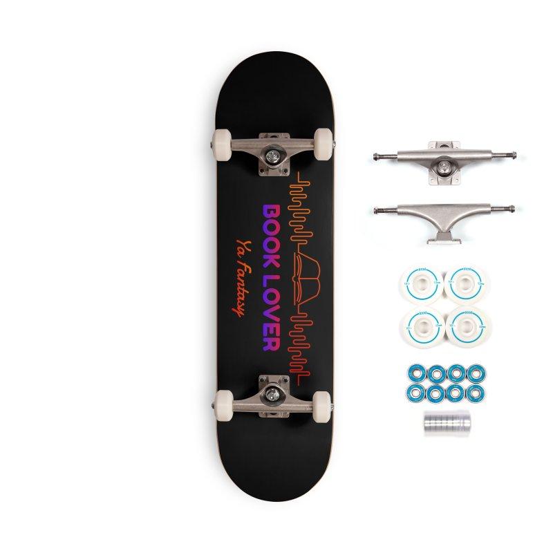 BOOK LOVER YA FANTASY Accessories Skateboard by Saksham Artist Shop