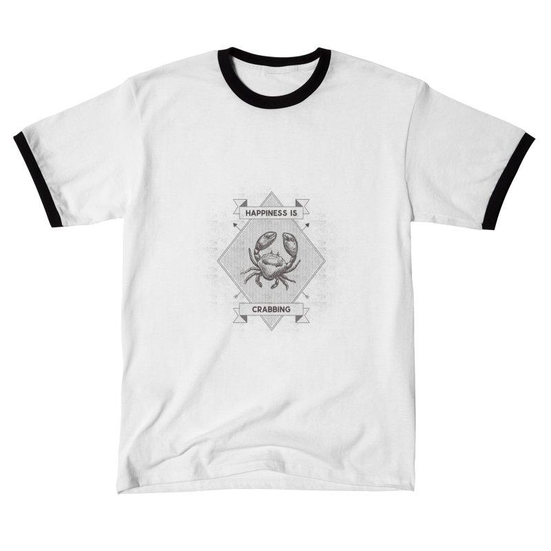 CRABBING Women's T-Shirt by Saksham Artist Shop