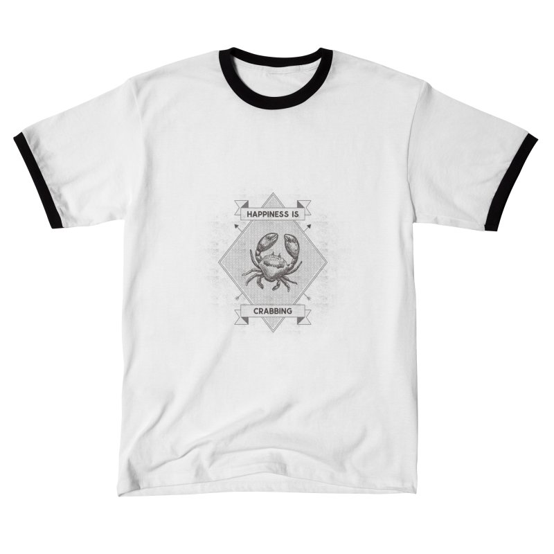 CRABBING Men's T-Shirt by Saksham Artist Shop