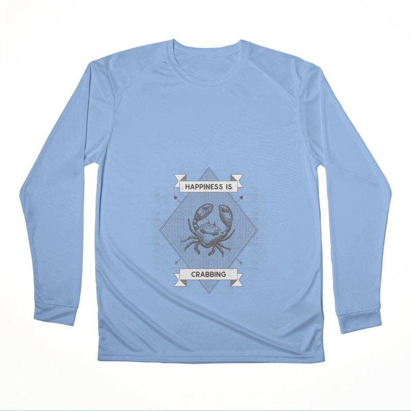CRABBING Women's Longsleeve T-Shirt by Saksham Artist Shop