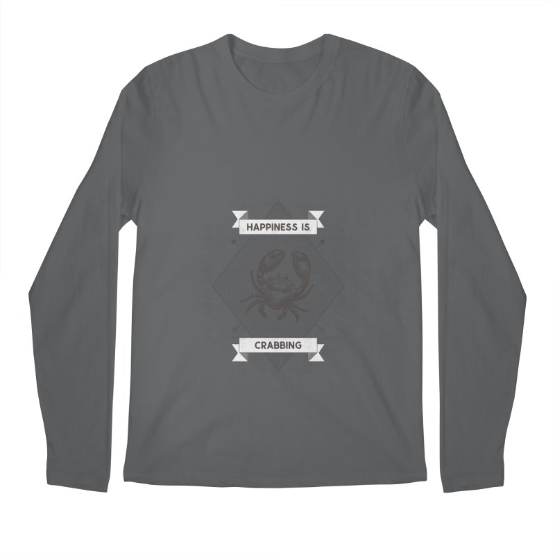 CRABBING Men's Longsleeve T-Shirt by Saksham Artist Shop