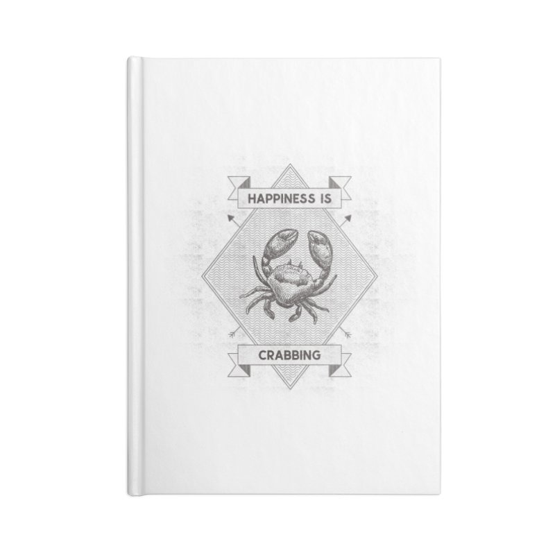 CRABBING Accessories Notebook by Saksham Artist Shop