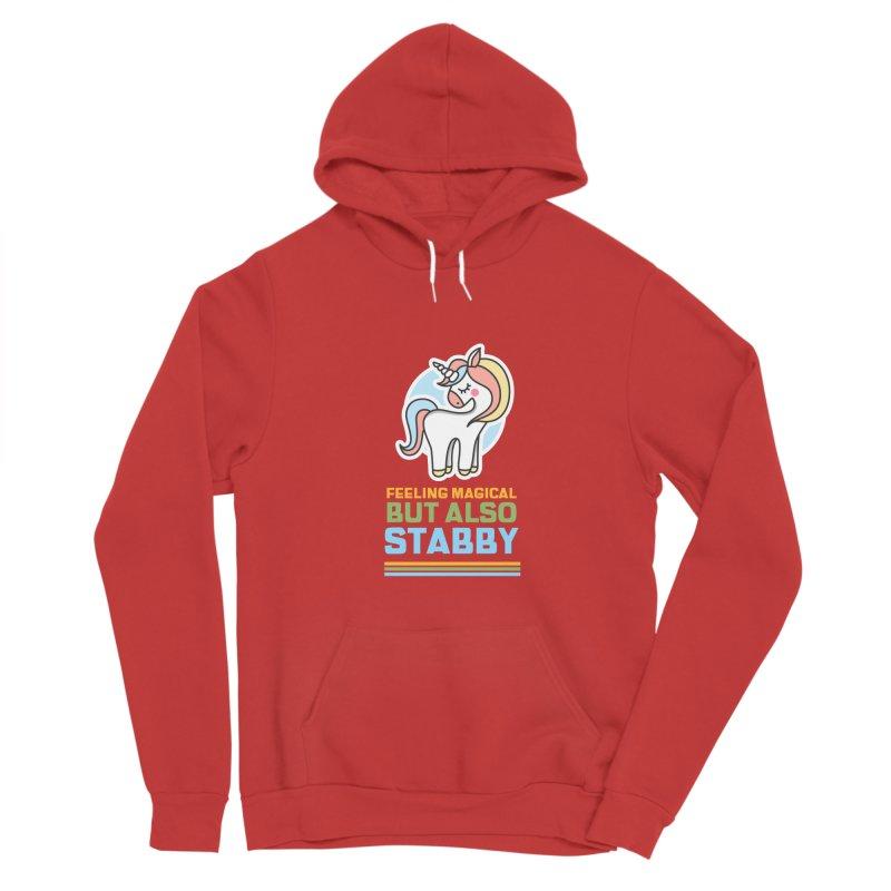 FEELING MAGICAL BUT ALSO STABBY Men's Pullover Hoody by Saksham Artist Shop