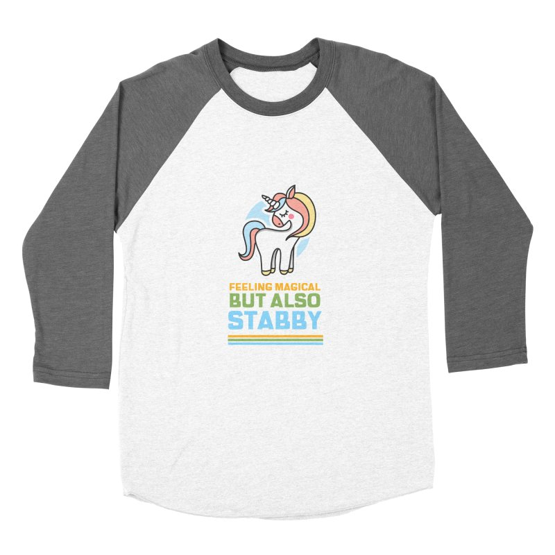 FEELING MAGICAL BUT ALSO STABBY Women's Longsleeve T-Shirt by Saksham Artist Shop