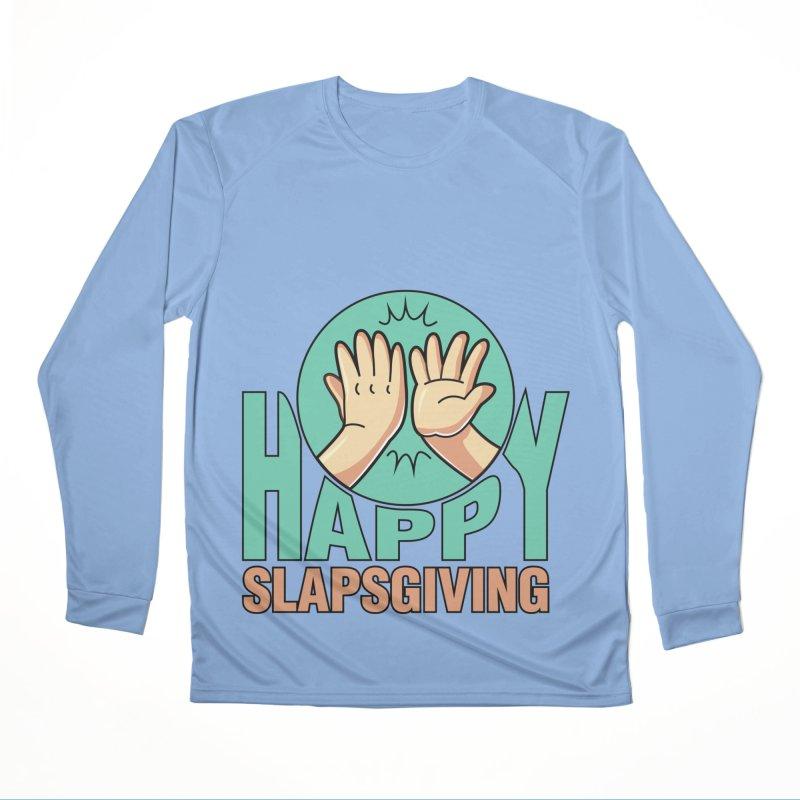 HAPPY SLAPSGIVING Men's Longsleeve T-Shirt by Saksham Artist Shop