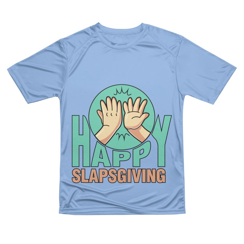 HAPPY SLAPSGIVING Men's T-Shirt by Saksham Artist Shop
