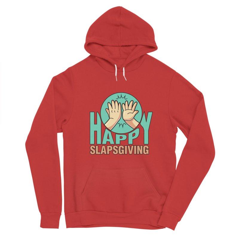 HAPPY SLAPSGIVING Men's Pullover Hoody by Saksham Artist Shop