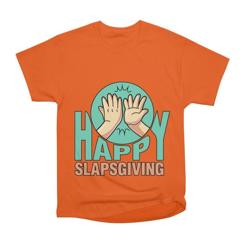 HAPPY SLAPSGIVING Men's T-Shirt by Saksham Artist Shop