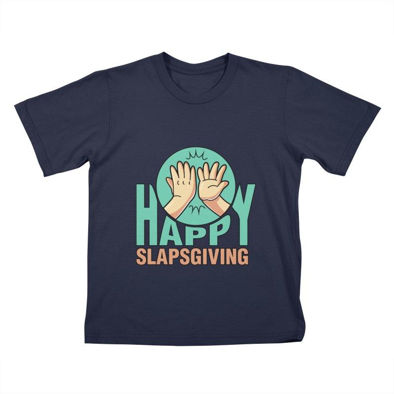 HAPPY SLAPSGIVING Kids T-Shirt by Saksham Artist Shop