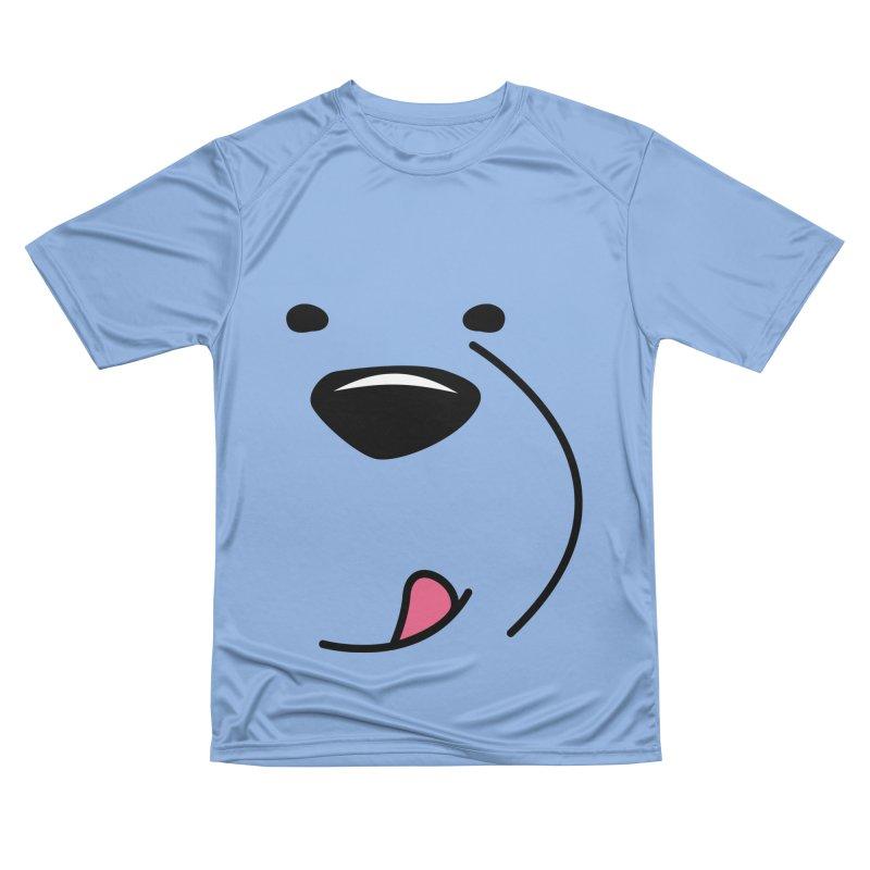CUTE ICE BEAR FACE Women's T-Shirt by Saksham Artist Shop