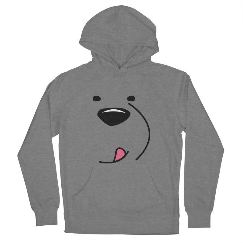 CUTE ICE BEAR FACE Women's Pullover Hoody by Saksham Artist Shop
