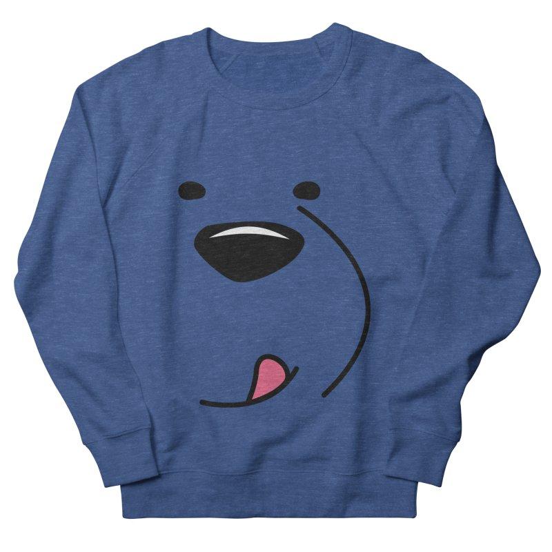 CUTE ICE BEAR FACE Men's Sweatshirt by Saksham Artist Shop
