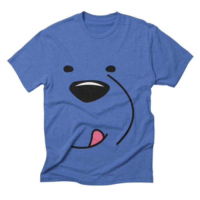 CUTE ICE BEAR FACE Men's T-Shirt by Saksham Artist Shop