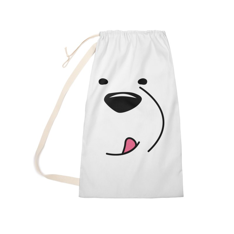 CUTE ICE BEAR FACE Accessories Bag by Saksham Artist Shop