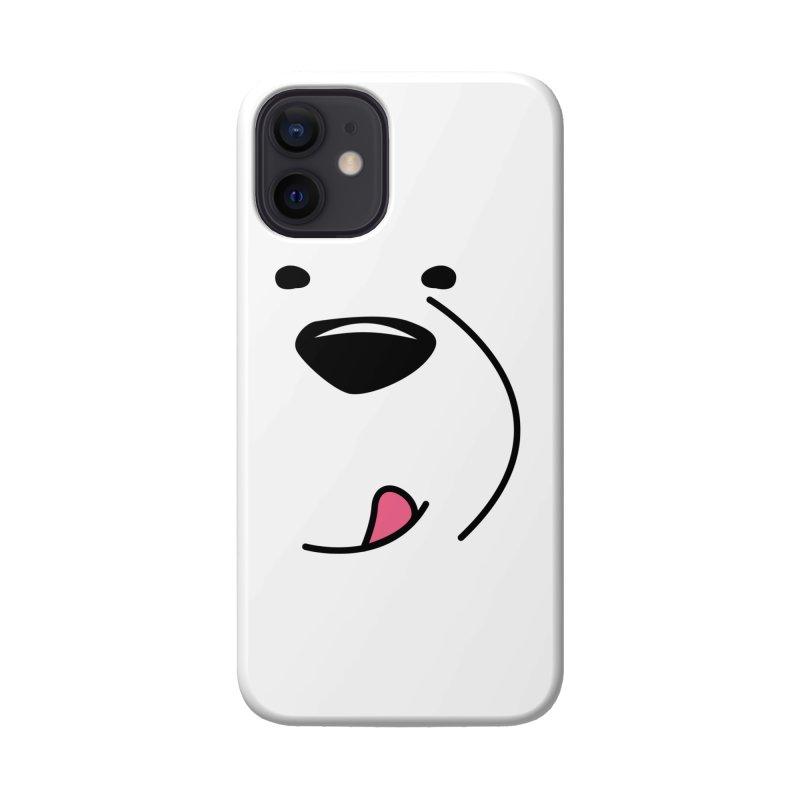 CUTE ICE BEAR FACE Accessories Phone Case by Saksham Artist Shop
