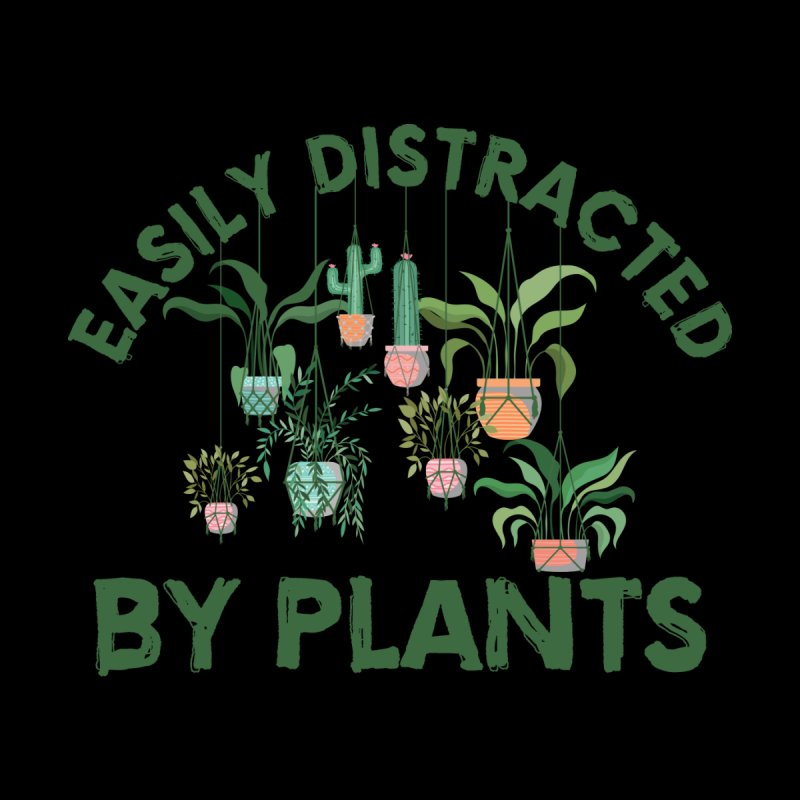 EASILY DISTRACTED BY PLANTS Accessories Bag by Saksham Artist Shop