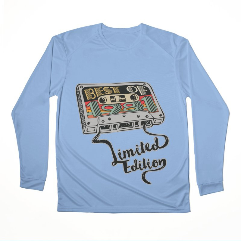 BEST OF 1981 LIMITED EDITION VINTAGE BIRTHDAY GIFT Men's Longsleeve T-Shirt by Saksham Artist Shop