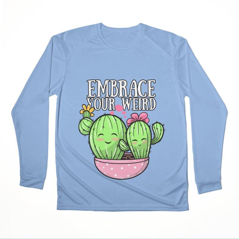 EMBRACE YOUR WEIRD Men's Longsleeve T-Shirt by Saksham Artist Shop