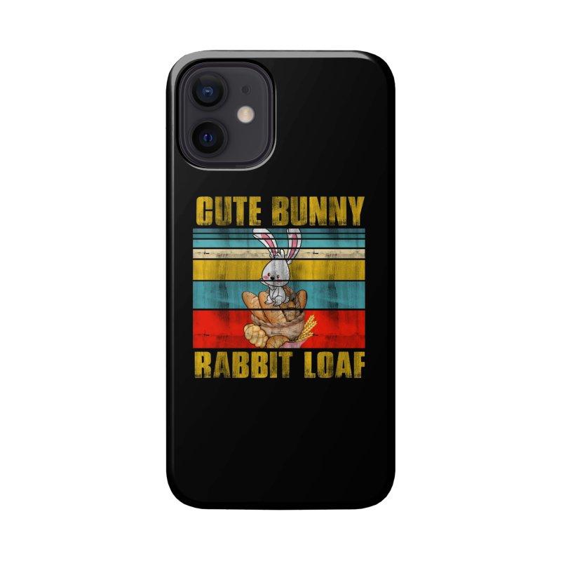 CUTE BUNNY RABBIT LOAF Accessories Phone Case by Saksham Artist Shop