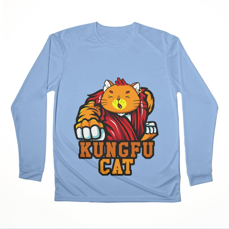 KUNGFU CAT Men's Longsleeve T-Shirt by Saksham Artist Shop