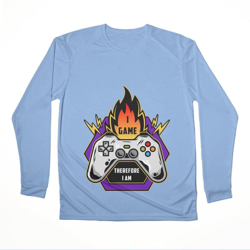 I GAME THEREFORE I AM Men's Longsleeve T-Shirt by Saksham Artist Shop