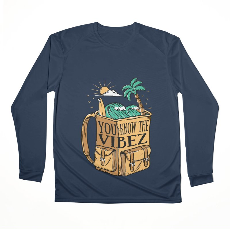 YOU KNOW THE VIBEZ Men's Longsleeve T-Shirt by Saksham Artist Shop