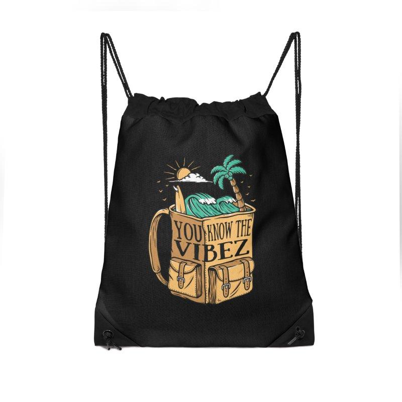 YOU KNOW THE VIBEZ Accessories Bag by Saksham Artist Shop