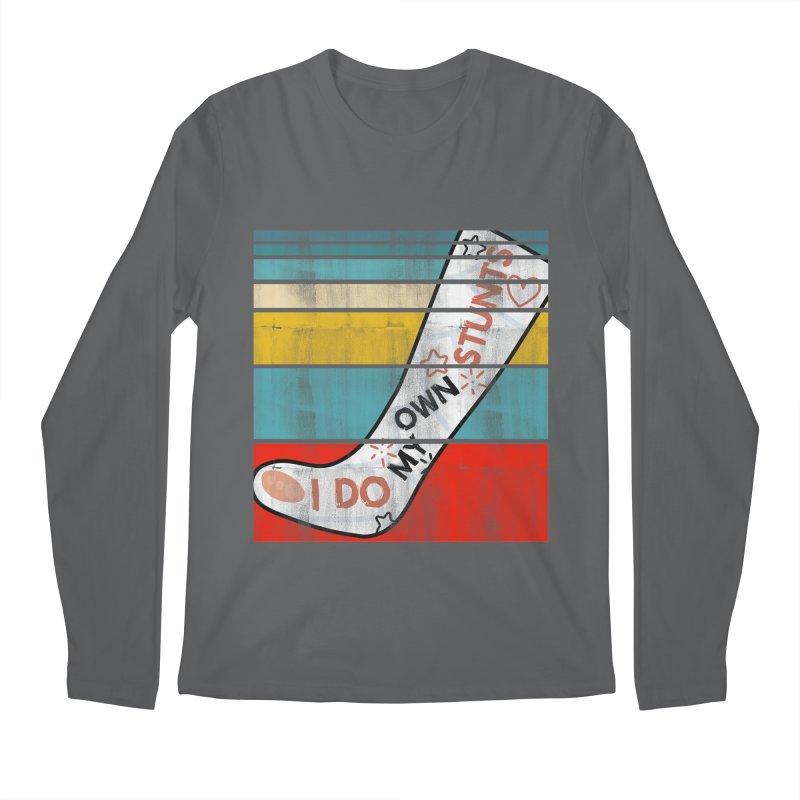 I DO MY OWN STUNTS Men's Longsleeve T-Shirt by Saksham Artist Shop