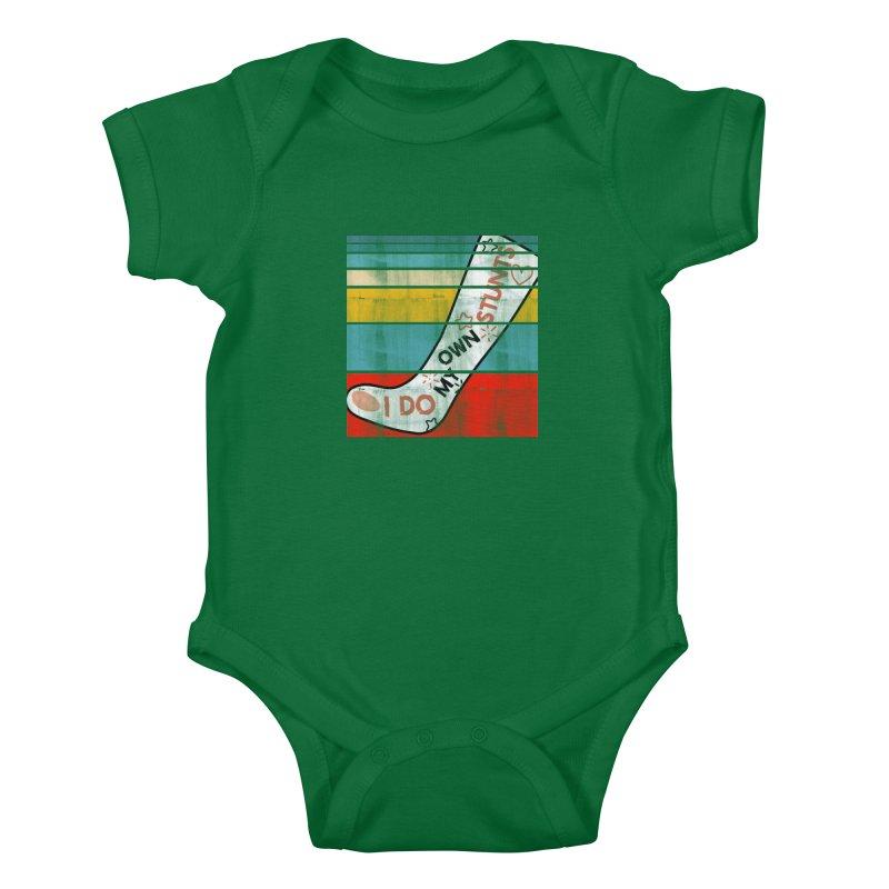 I DO MY OWN STUNTS Kids Baby Bodysuit by Saksham Artist Shop