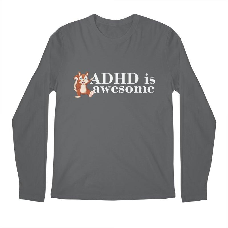 Adhd Is Awesome Men's Longsleeve T-Shirt by Saksham Artist Shop