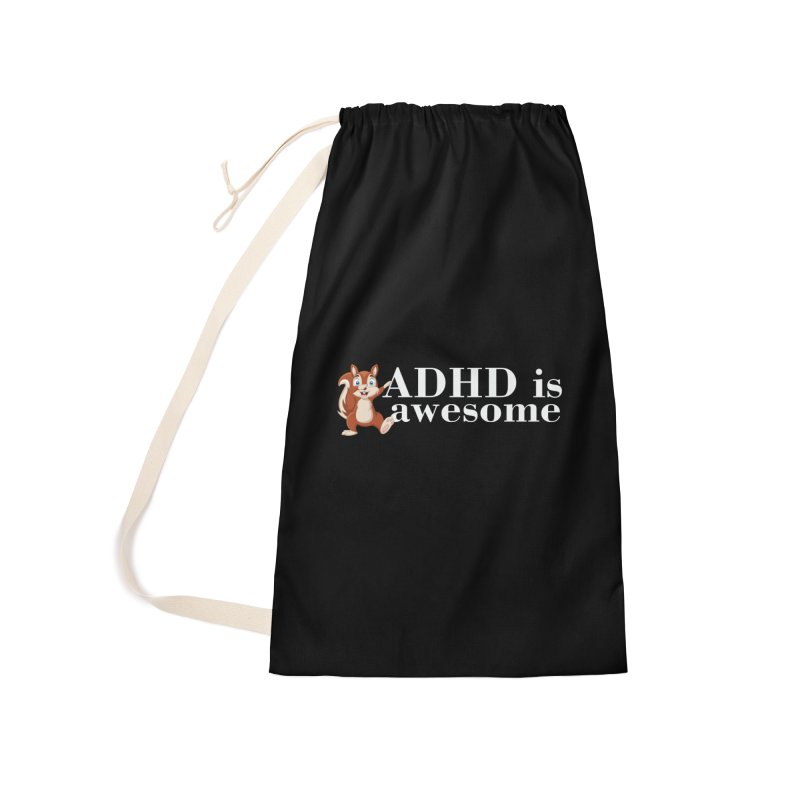 Adhd Is Awesome Accessories Bag by Saksham Artist Shop