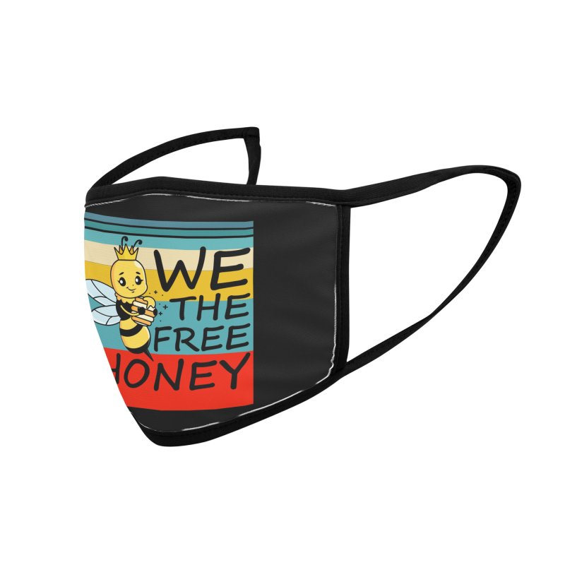 WE THE FREE HONEY Accessories Face Mask by Saksham Artist Shop