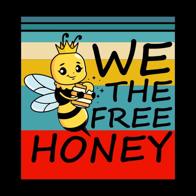 WE THE FREE HONEY Kids Toddler Longsleeve T-Shirt by Saksham Artist Shop
