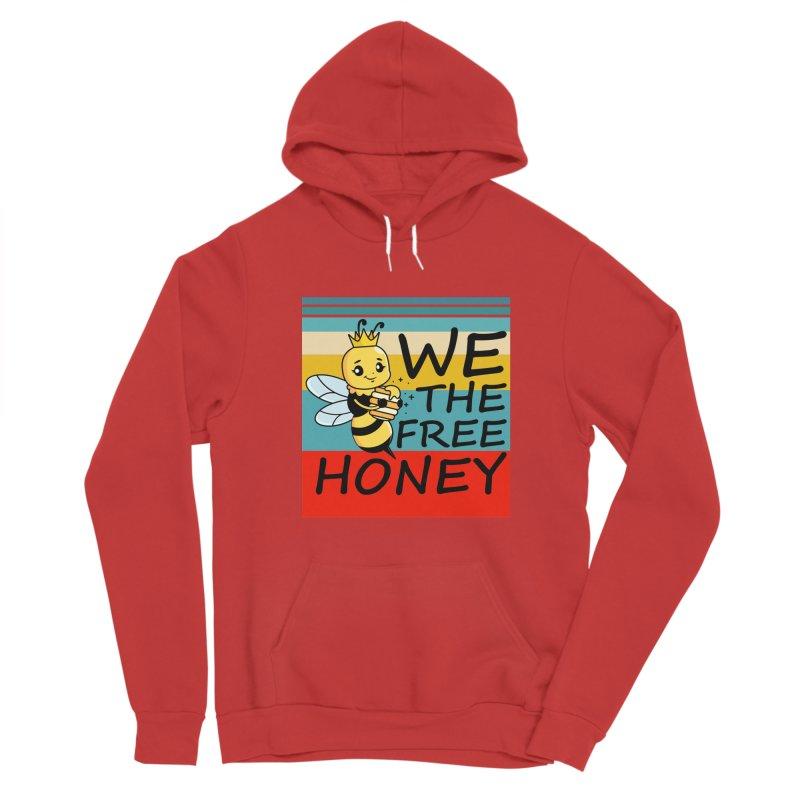 WE THE FREE HONEY Men's Pullover Hoody by Saksham Artist Shop
