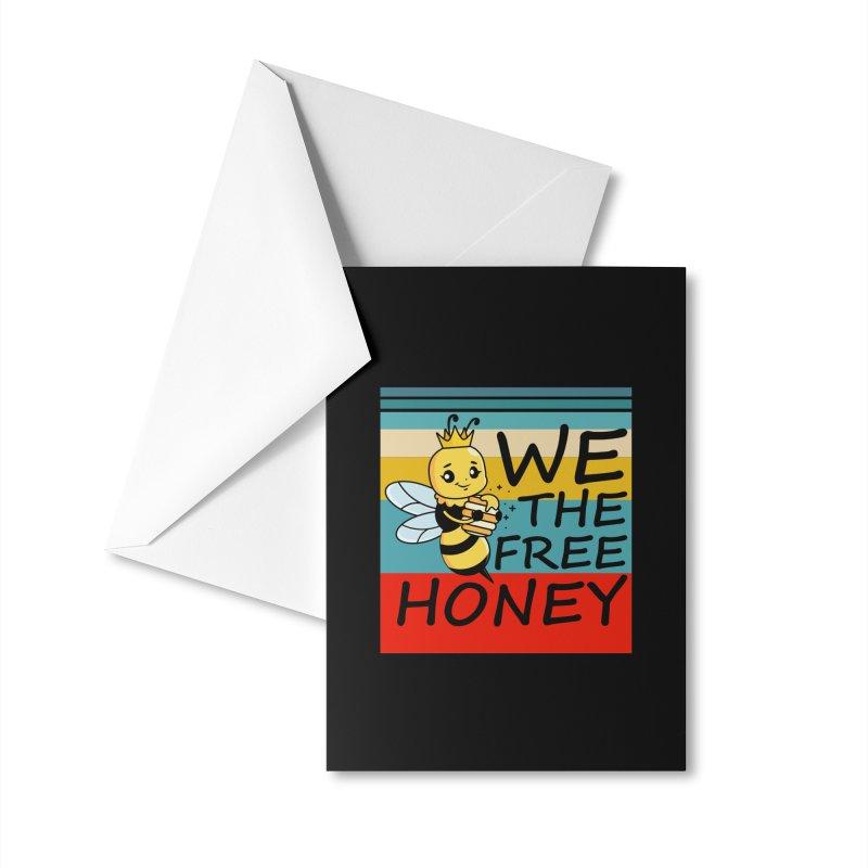 WE THE FREE HONEY Accessories Greeting Card by Saksham Artist Shop
