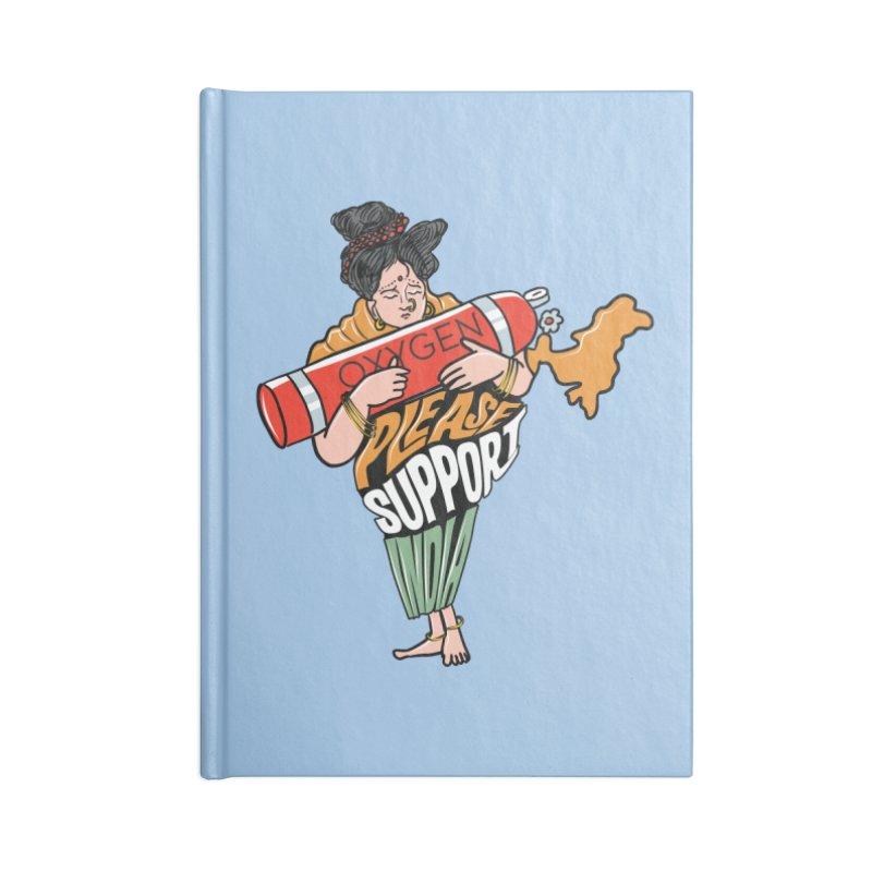 Please support India Accessories Notebook by Saksham Artist Shop