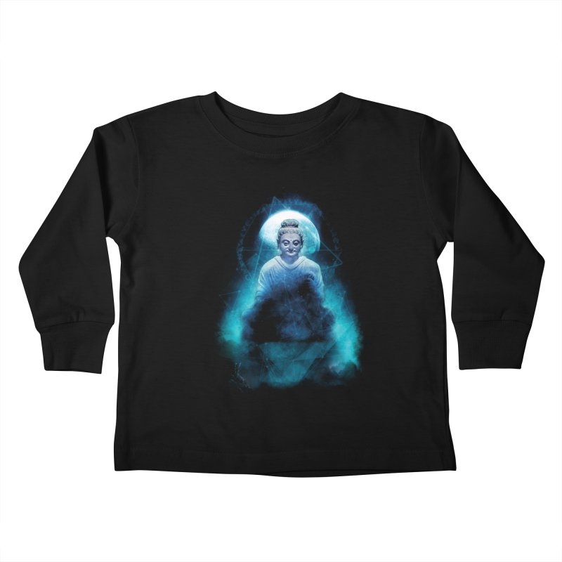 Buddham Sharnam Gachchami Kids Toddler Longsleeve T-Shirt by saksham's Artist Shop