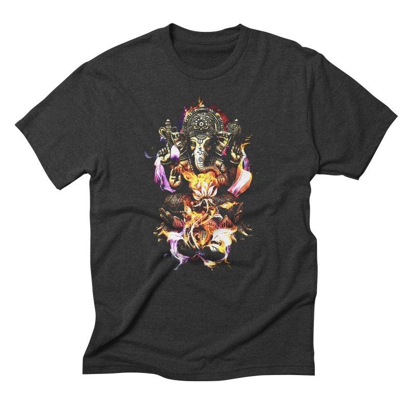 Om Ganeshay Namah Men's T-Shirt by Saksham Artist Shop