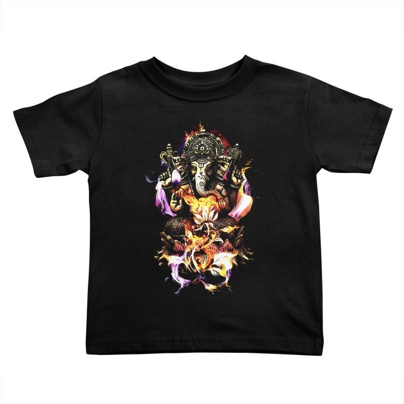 Om Ganeshay Namah Kids Toddler T-Shirt by saksham's Artist Shop