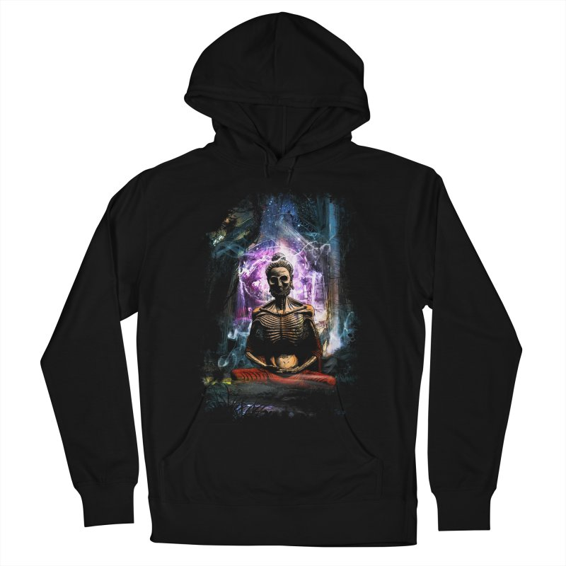 Spiritual Healing Women's French Terry Pullover Hoody by saksham's Artist Shop
