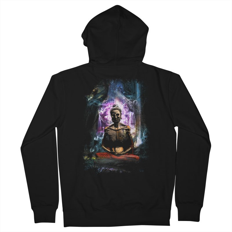 Spiritual Healing Men's Zip-Up Hoody by saksham's Artist Shop