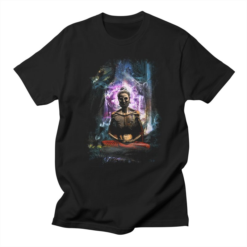 Spiritual Healing Men's Regular T-Shirt by Saksham Artist Shop