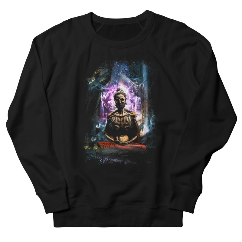Spiritual Healing Women's French Terry Sweatshirt by Saksham Artist Shop