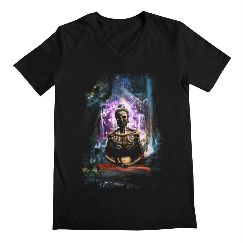 Spiritual Healing Men's V-Neck by saksham's Artist Shop
